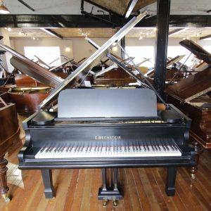 Bechstein Model A Black Baby Grand Piano