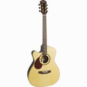 Freshman 400 Series FA400GACELF Left Hand Electro Acoustic 6 String Grand Auditorium Body Cutaway Guitar