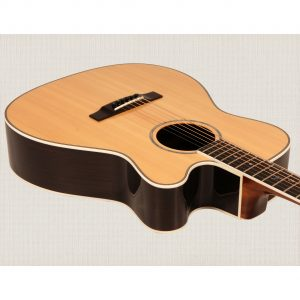 Freshman 500 Series FA500GACED Electro Acoustic 6 String Grand Auditorium Body Guitar