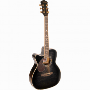 Freshman Apollo 20CBKLH Left Hand Electro Acoustic 6 String Grand Auditorium Body Cutaway Guitar