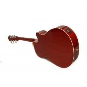 Freshman Maple Ridge FA1AWRLH Left Hand Electro Acoustic 6 String Folk Body Cut Away Guitar