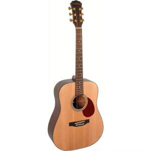 Freshman Maple Ridge FA1DNS Acoustic 6 String Dreadnought Guitar