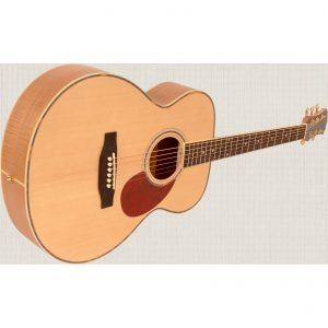 Freshman Maple Ridge FA1GAM Acoustic 6 String Folk Body Guitar