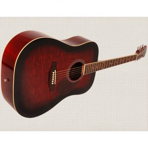 Freshman Renegade RENDWR Acoustic 6 String Dreadnought Guitar