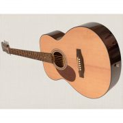 Freshman Renegade RENFNLH Left Hand Acoustic 6 String Folk Body Guitar 2