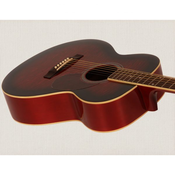Freshman Renegade RENFWR Acoustic 6 String Folk Body Guitar