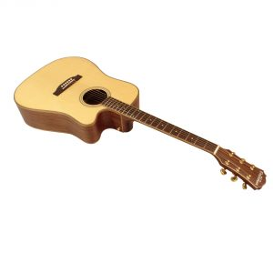 Freshman Songwriter SONGDCE Electro Acoustic 6 String Dreadnought Cut Away Guitar