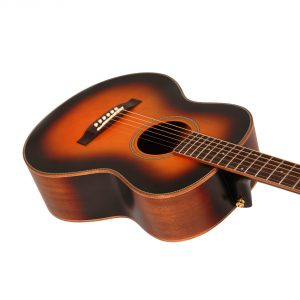 Freshman Songwriter SONGTRAVTSB Acoustic 6 String Traveller Body Guitar