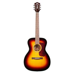 Guild Westerly OM-140 Sunburst Acoustic 6 String Orchestra Body Guitar