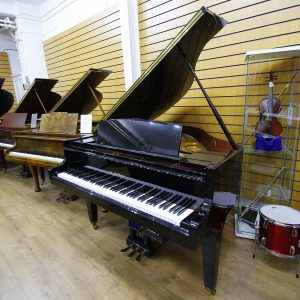 Kawai GM-10 LE Self Playing Disklavier Black Grand Piano
