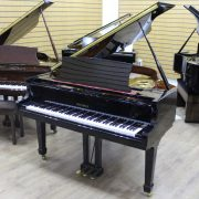 Steinbach Black Polyester Baby Grand Piano
