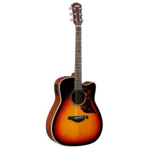 Yamaha A3M VS Electro-Acoustic Guitar 6 String Dreadnought Body Guitar