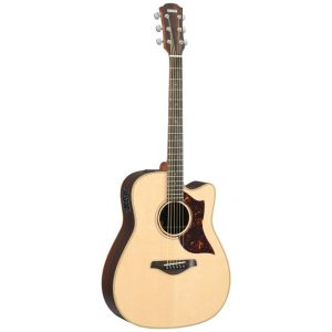 Yamaha A3R Electro-Acoustic Guitar 6 String Dreadnought Body Guitar