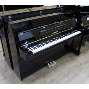 Yamaha B1 Black Polyester Upright Piano