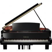 Yamaha C1X Black Polyester Baby Grand Piano 2