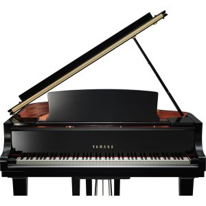 Yamaha C1X Black Polyester Baby Grand Piano