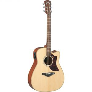 Yamaha A1M Electro-Acoustic 6 String Dreadnought Body Guitar
