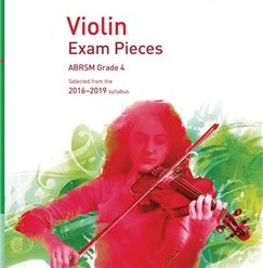 ABRSM: Violin Exam Pieces 2016 2019 - Grade 4 (Part)