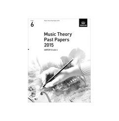 ABRSM Theory Of Music Exam Past Paper 2015: Grade 6