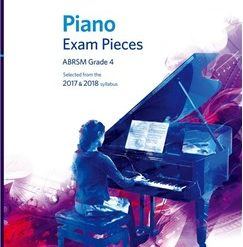 ABRSM Piano Exam Pieces: 2017-2018 (Grade 4) - Book Only