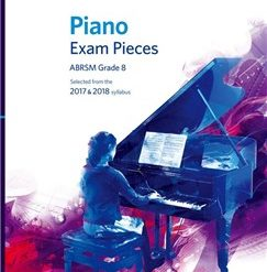 ABRSM Piano Exam Pieces: 2017-2018 (Grade 8) - Book Only