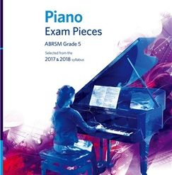 ABRSM Piano Exam Pieces: 2017-2018 (Grade 5) - Book And CD
