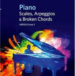 ABRSM Piano Scales, Arpeggios and Broken Chords: From 2009 (Grade 2)