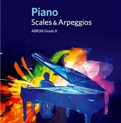 ABRSM Piano Scales and Arpeggios: From 2009 (Grade 8)