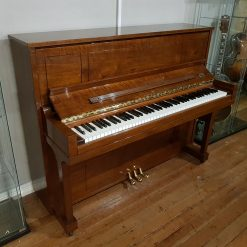 Used Steinway & Sons 1098 upright piano, in a Crown Jewels Walnut case