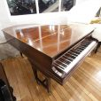 Bechstein Model A Baby Grand Piano Mahogany At Sherwood Phoenix Pianos 8