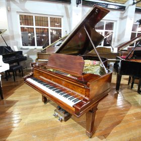 Steinway Model B boudoir grand piano, in a rosewood case, for sale.