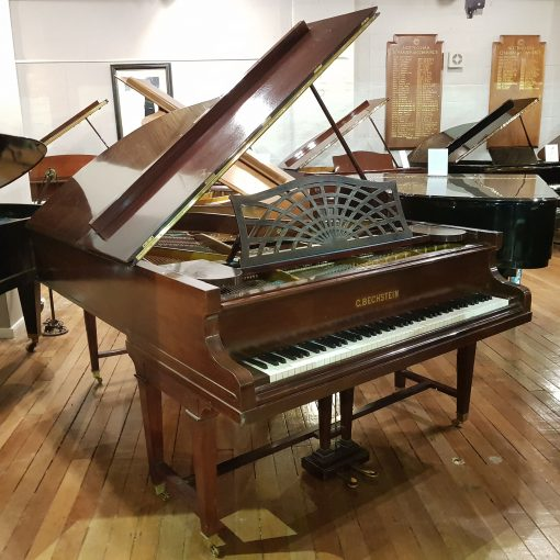 Used Bechstein Boudoir Grand Piano, Model B, in a mahogany case, for sale.