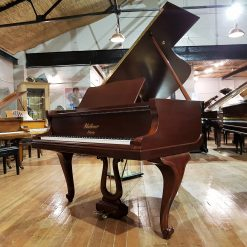Restored Bluthner grand piano, with cabriole legs & Jubilee frame for sale.