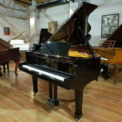 Steinhoven GP 160 baby grand piano, in a black polyester case for sale.