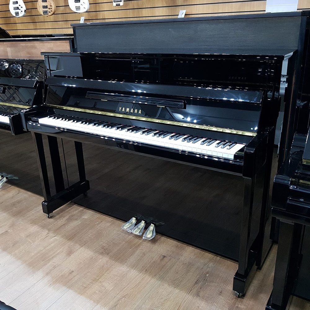 New Yamaha B2 in a black polyester case, for sale.