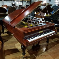 Restored Bluthner grand piano, in a rosewood case, for sale.