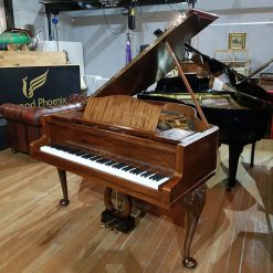 Used Bluthner Style 4 baby grand piano, in a mahogany case, for sale