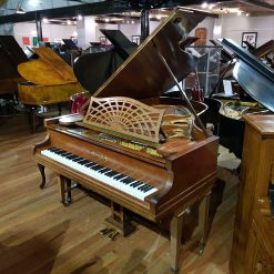 Used Bechstein Model B grand piano, in a rosewood case, for sale.