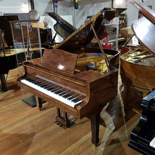 Used Bluthner Model 6 grand piano, mahogany polyester case, for sale