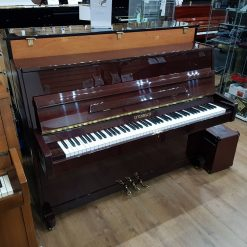 Used Steinbach UP108 upright piano, in a mahogany case, for sale.