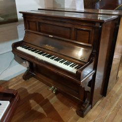 Used Bluthner upright piano for sale, in a rosewood case.